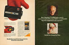 1960 vintage Christmas photography AD  KODAK INSTAMATIC 8mm Movie Cameras 110615