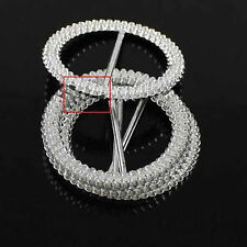 53mm 25PCS Diamante Rhinestone Buckle Chair Sash Ribbon Slider Wedding Party