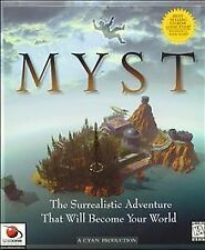 MYST (pc) BRAND NEW CD ROM IN A PAPER SLEEVE - FULL VERSION GAME - THE ORIGINAL