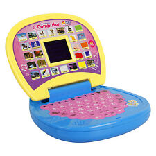 New Educational English Learning LED Screen Laptop Toy For Kids Birthday Gift