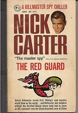 THE RED GUARD ~ AWARD A261X 1969 2ND NICK CATER a KILLMASTER SPY CHILLER- READER