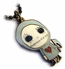 Skull Gnome Gus Fink Steampunk Gothic Cartoon Charm Pendant Necklace w/ Chain