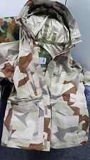 RARE Swedish army M90K arid desert camo parka ,military goretex multiple size