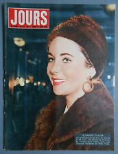 ►JDF 175/1958 - ELIZABETH TAYLOR - JOHNNY RAY - RAF VALLONE - GALA DE L'UNION