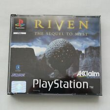 Riven  The Sequel to Myst - Sony PS1 - PAL