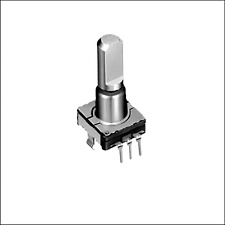 5 pcs. EC11E15244G1 Incremental Encoder Alps  Drehgeber mit Schalter stehend