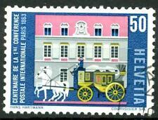SWITZERLAND - SVIZZERA - 1963 - Serie di prop. - 100° della prima Confer. post.