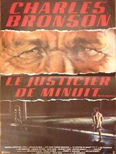 affiche LE JUSTICIER DE MINUIT . 40x60 cms. Charles Bronson