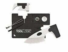 Tool Logic Credit Card Companion With Lens/Compass ToolLogic 9 Tools In One