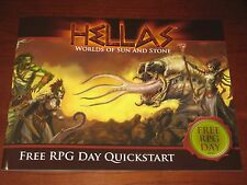 Hellas Worlds of Sun and Stone Quick-Start NEW Free RPG Day 2015 D&D