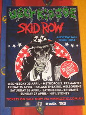 UGLY KID JOE - SKID ROW  -  2014 AUSTRALIAN  TOUR  -  PROMO TOUR POSTER