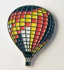 Metal Enamel Pin Badge Brooch Air Balloon Hot Air Balloon Pilot Multi Colour
