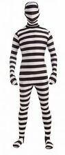 Prisoner Disappearing Man Costume for Teens Full Body Jumpsuit New by Forum