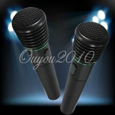 Undirectional Handheld Microphone 2in1 Wired&Wireless Mic Receiver F Karaoke