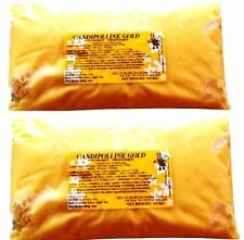 2 X Candipolline Gold complete bee food HALF KILO (1.1Lb) pouches
