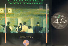"CABARET VOLTAIRE 3 track  12"" Inch *  I Want You * Drink Your Poison  * C.O.M.A."