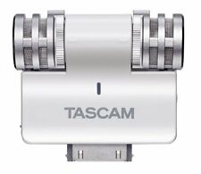 ma0668 TASCAM stereo condenser microphone iPhone / iPad / iPod touch white iM2-W
