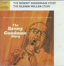 The Benny Goodman Story / Glenn Miller Story Original Soundtrack 2 CD Set  NEW