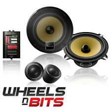"PIONER TS-E131CI 13CM 5.25"" INCH 180 WATT EACH 35RMS COMPONENT CAR DOOR SPEAKERS"