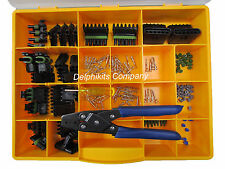 DELPHI WEATHERPACK CONNECTOR KIT WP 175 PCS WITH CRIMP TOOL