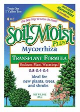 3oz Mycorrhiza Transplant Formula with 0.8-0.4-0.4 Fertilizer Tree Shrubs Plants