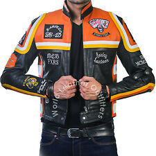 Harley Davidson Marlboro Man HDMM Motorbike Faux Leather Jacket