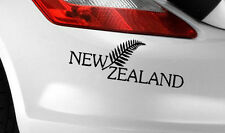 NEW ZEALAND FERN CAR Van ART DECAL STICKER Label Window/Bumper Sticker/Decal