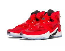 NIKE - Lebron James XIII NBA - University Red/Black - Size 13 - $200 (807219)