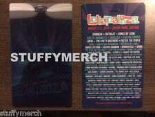 2014 LOLLAPALOOZA 3D LENTICULAR COLLECTIBLE CARD PASS EMINEM NOT TICKET 8/1-3