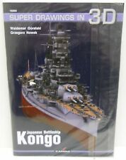 Kagero Publishing 16005 - Super Drawings In 3D - Japanese Battleship Kongo  Book