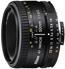 Nikon AF Nikkor 50 mm f/1.8D Lens With VAT Invoice & Two Year Warranty (SMP6)