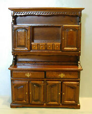 MUSEUM WELCH BUFFET/HUTCH  DOLLHOUSE FURNITURE MINIATURES