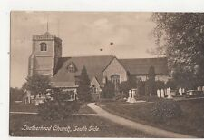 Leatherhead Church Vintage Postcard  241a