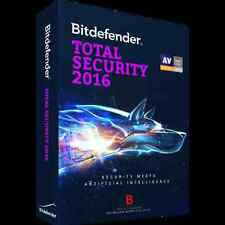 Bitdefender Total Security 2016 / 2017 License Key 1PC/1Year