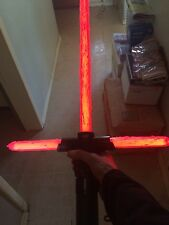 Star Wars Custom Force FX Deluxe Kylo Ren Lightsaber Mint NEW IN BOX !