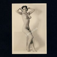 #359 RÖSSLER AKTFOTO / NUDE WOMAN STUDY * Vintage 1950s Studio Photo - no PC !