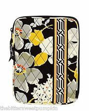 VERA BRADLEY~QUILTED L-ZIP E-READER SLEEVE~DOGWOOD~FITS I-PAD MINI-ETC~BNWT!
