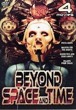 Beyond Space and Time 4 Movie Pack,New DVD, Peter Graves, Sam O'Dell, Andy Sims,