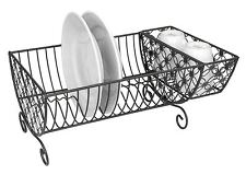 Home Basics NEW Bronze Heavy Duty Strong Decorative Dish Drainer Rack - DR41131