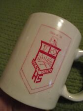 "Vintage WEST VIEW HIGH SCHOOL Class of '56 Pennsylvania Mug 3.75""X3.25"" 265"