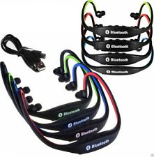 Stereo Cuffia Bluetooth Wireless Sport Cuffiette per iPhone HTC Samsung Sony