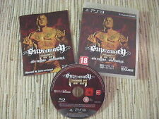 PLAYSTATION 3 PS3 SUPREMACY MMA MARTIAL ARTS PAL ESPAÑA USADO BUEN ESTADO
