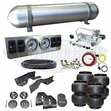 "63-72 C10 C20 Airbag Kit - Stage 1 - 1/4"" Manual Control 4 Path Air Ride System"