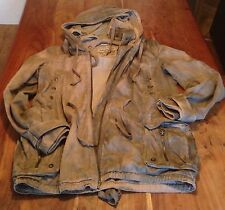 ALL SAINTS KHAKI PARKA SIZE 14 WITH VERY WARM INNER LINER