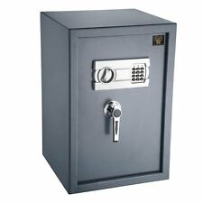 Paragon Paraguard Deluxe LOCK SAFE, Electronic Digital SAFE HOME SECURITY, Gray