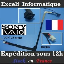 Dc Jack DW086 Connecteur Cable Sony Vaio VGN-CS91HS VGN-CS91NS VGN-CS91S