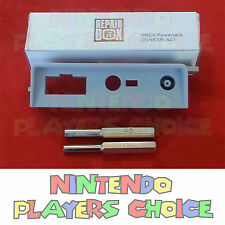 Power Port Input Jack + 3.8mm + 4.5mm Tools For the SNES Super Nintendo System