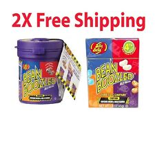 2X BEAN BOOZLED + MYSTERY DISPENSER GAME 3.5oz JELLY BELLY BEANS #102249F