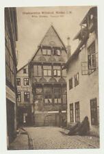 AK / Minden i. W,..Restauration Wittekind,..Wilh. Grothe......gel. 1914