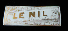 antique LE NIL Bout Dore' Gomme' Vintage Cigarette Rolling Papers gold band tip